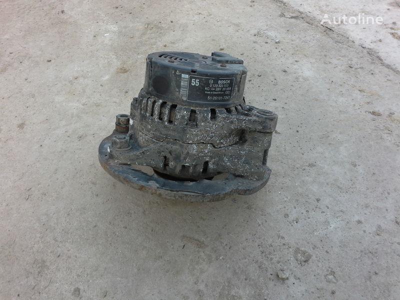 генератор  Ман MAN L2000 Le 8.180 Le 8.160 Le 8.145 Le 8.140 Le220 для грузовика MAN L2000
