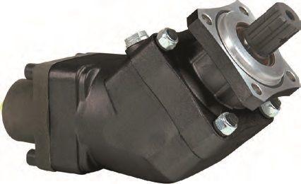 новый гидравлический насос  аксиально-поршневой 85 л/мин. для грузовика