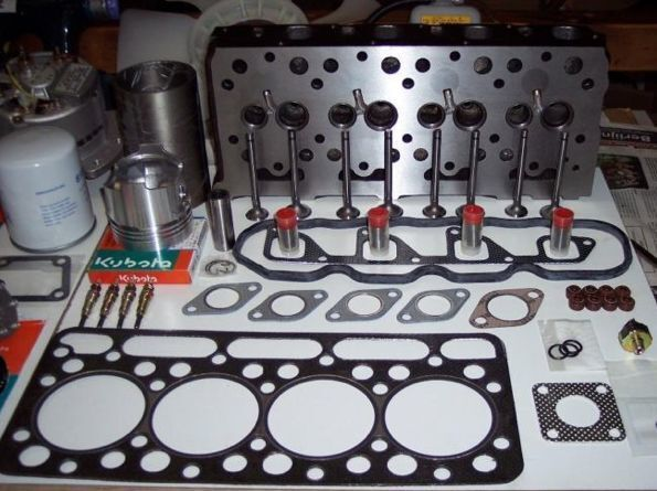 новая головка блока цилиндров  KUBOTA для мини-экскаватора