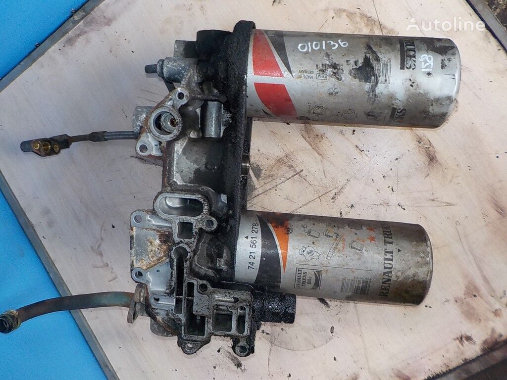 корпус масляного фильтра  Renault для грузовика
