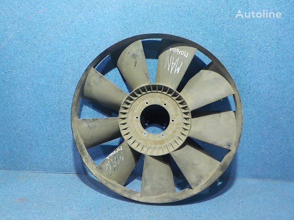 кожух вентилятора  Крыльчатка вентилятора двигателя MAN для грузовика