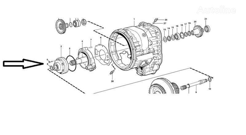 новая КПП  Помпа VOE11145264 для фронтального погрузчика VOLVO  L180E