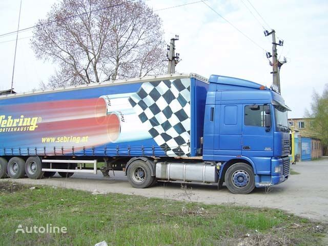 новый солнцезащитный козырек для грузовика DAF XF95