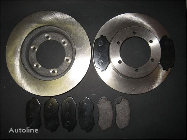 тормозной диск для грузовика MITSUBISHI TARCZE HAMULCOWE + KLOCKI PRZÓD MITSUBISHI FUSO 35 TARCZE