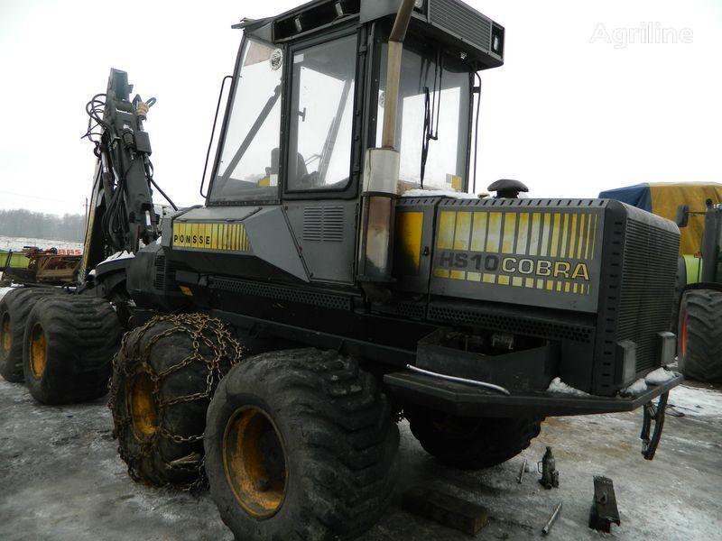 запчасти  б/у запчасти/ used spare parts для харвестера PONSSE COBRA HS10