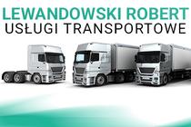 LEWANDOWSKI ROBERT - USŁUGI TRANSPORTOWE