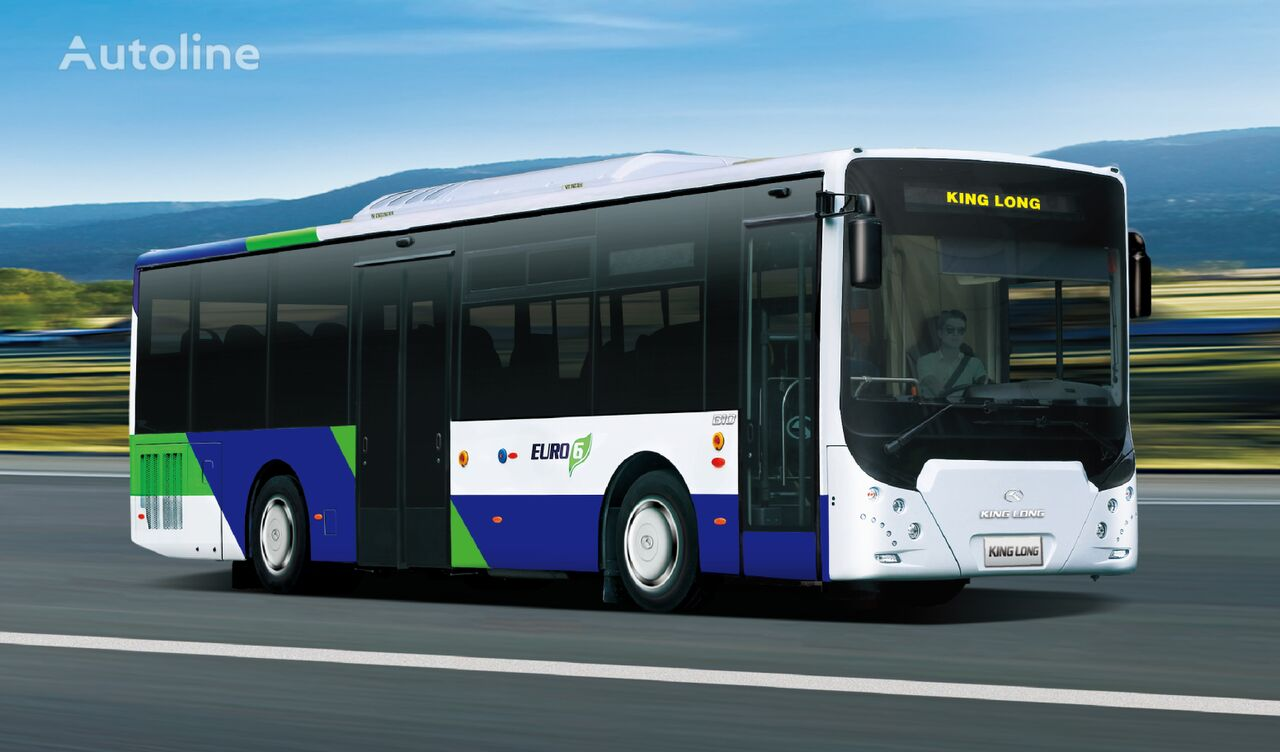 новый городской автобус KING LONG B10