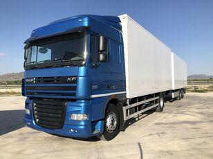 автофургон DAF XF 105.460 Y REMOLQUE KRONE + прицеп фургон