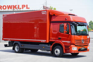 автофургон MERCEDES-BENZ Atego 1224, E6, 4x2, 6.10m container, GLOB cabin, retarder
