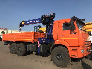 новый бортовой грузовик КАМАЗ 43118 c тросовым КМУ DY (DongYang) SS1956 ACE