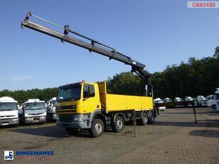 бортовой грузовик DAF CF 85.480 8x4 + Hiab 700 EP-4 Hipro
