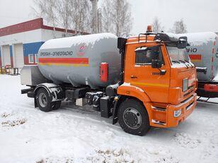 новый газовоз КАМАЗ 45253
