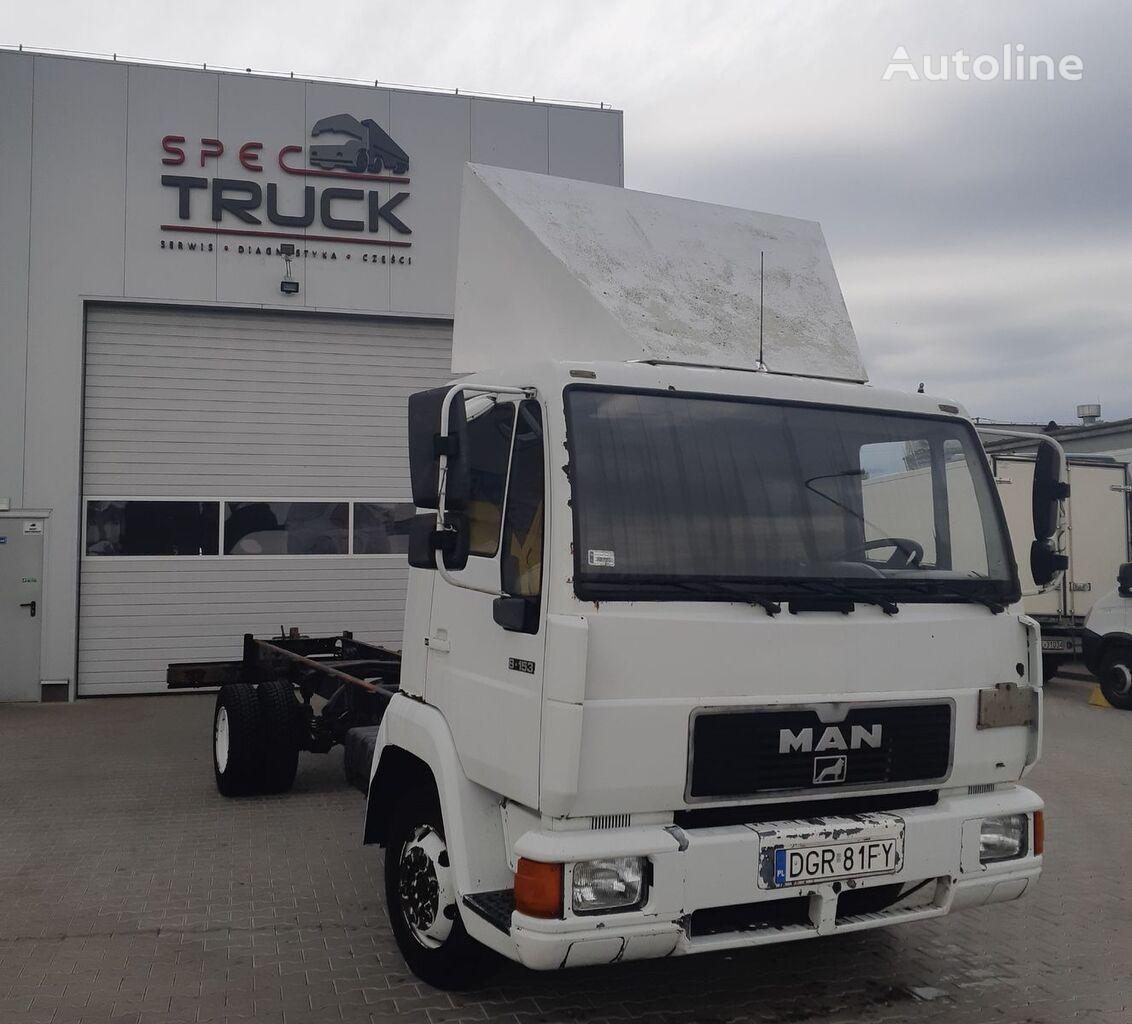 грузовик шасси MAN L-2000, 8.153, full Stell, 7 meters