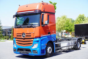 контейнеровоз MERCEDES-BENZ ACTROS 1842, E6, 4x2, chassis 7m, BDF, GigaSpace