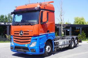 контейнеровоз MERCEDES-BENZ Actros 2542 , E6 , 6X2 , BDF , chassis 7,2m , retarder , 2 beds