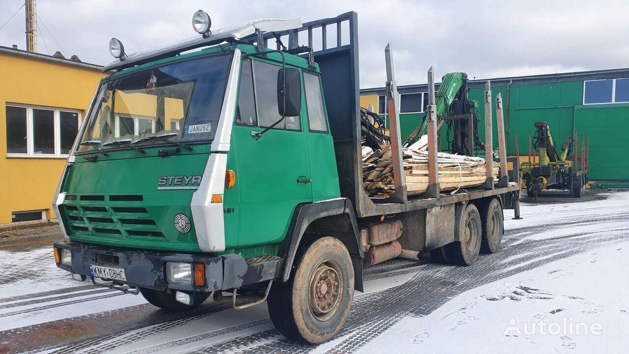 лесовоз STEYR 1491