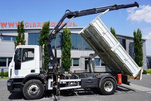 самосвал IVECO Eurocargo 160E25 , EEV , 4X2 , tipper + Crane , Remote Control