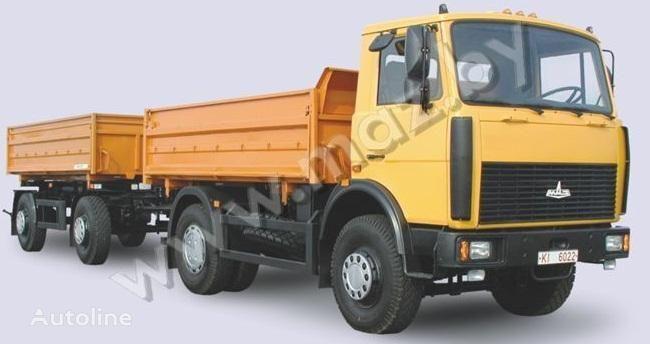 новый самосвал МАЗ 5551