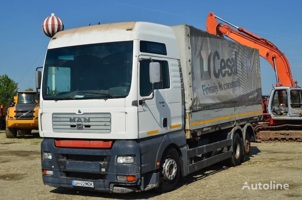 тентованный грузовик MAN TGA 410 A