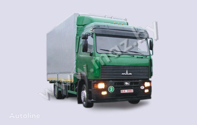 тентованный грузовик МАЗ 5340A8