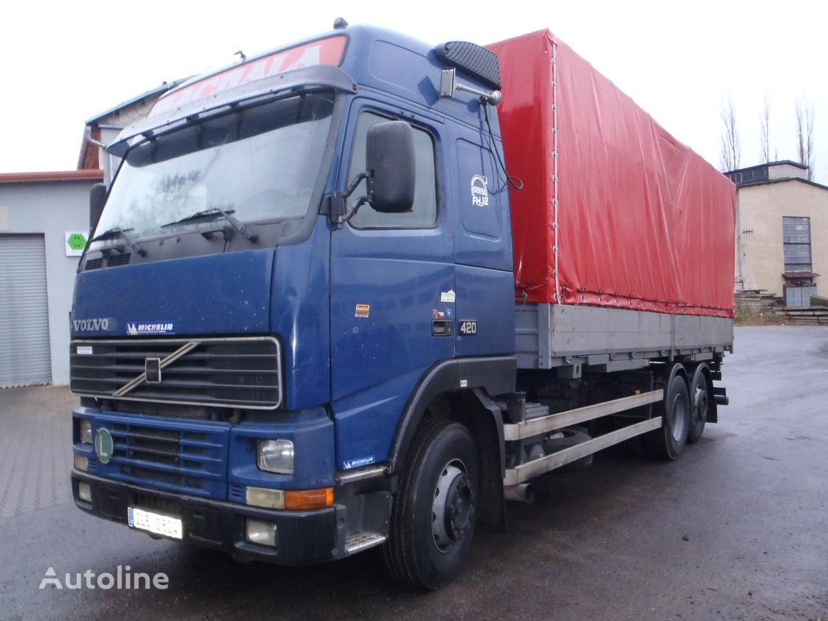 тентованный грузовик VOLVO FH12/420