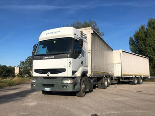 торговый грузовик RENAULT PREMIUM 420 DCI + biga Omar