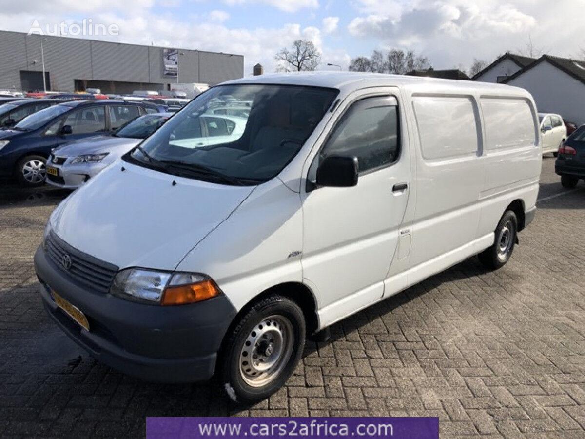 микроавтобус фургон TOYOTA Hi-Ace 2.5 D-4D