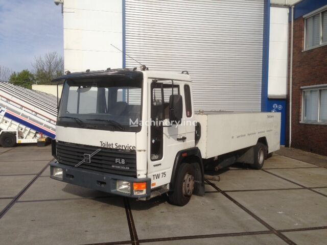 другая аэродромная техника VOLVO Zellinger FL 611 toilet service truck