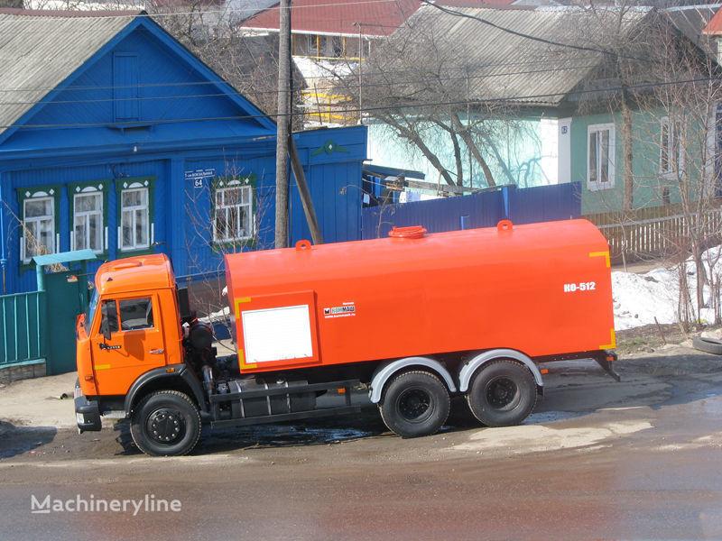 каналопромывочная машина КАМАЗ Каналопромывочная машина КО-512