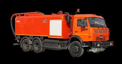 комбинированная каналоочистительная машина КАМАЗ КО-560Г