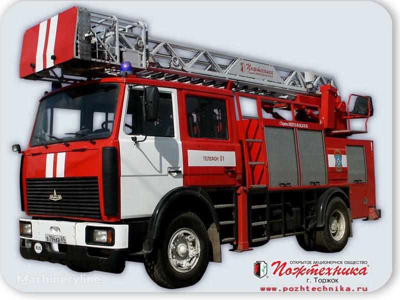 пожарная автолестница МАЗ АПС(Л)-1,25-0,8