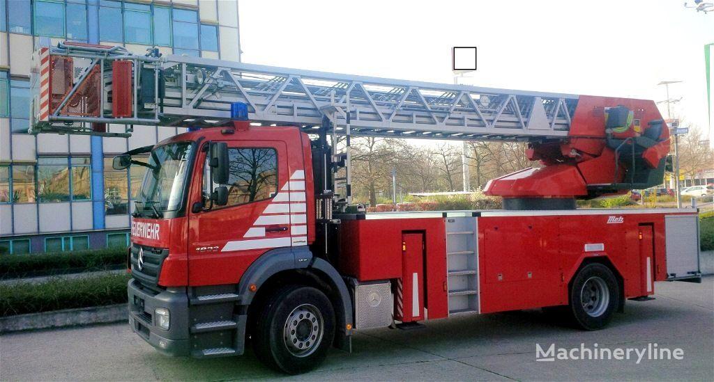 пожарная автолестница MERCEDES-BENZ F20127 - Metz L39 - Fire truck - turntable ladder