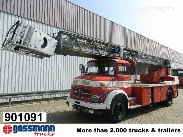 пожарная автолестница MERCEDES-BENZ L 1519 4x2 DL 30 L 1519 4x2 Feuerwehr Drehleiter DL30