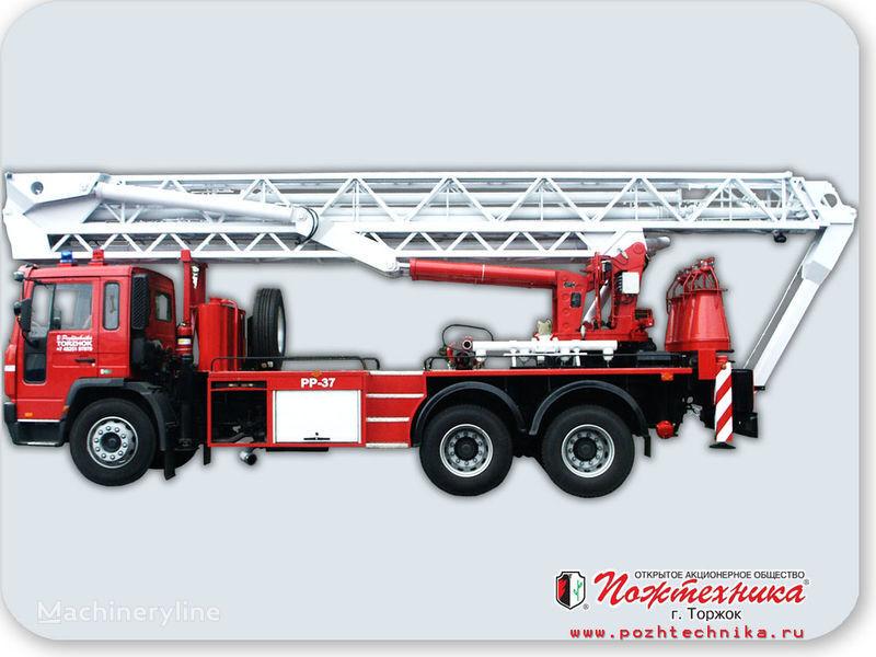 пожарная автолестница VOLVO ППП-37 Пеноподъемник пожарный
