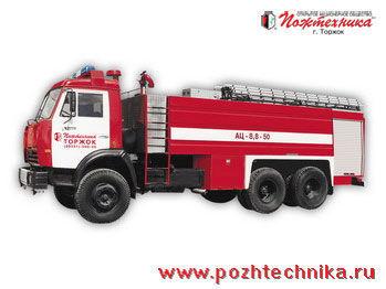 пожарная машина КАМАЗ АЦ-8,8-50