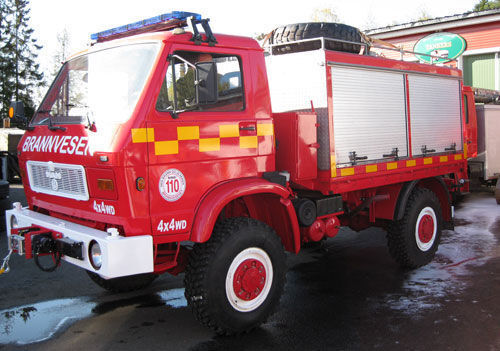 пожарная машина MAN 8.150, 4x4 WD