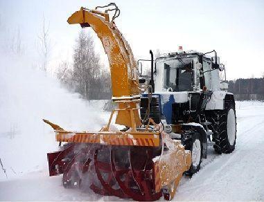 новая снегоуборочная машина МТЗ ОФР 200