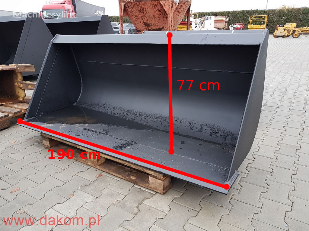 новый ковш skid steer loader