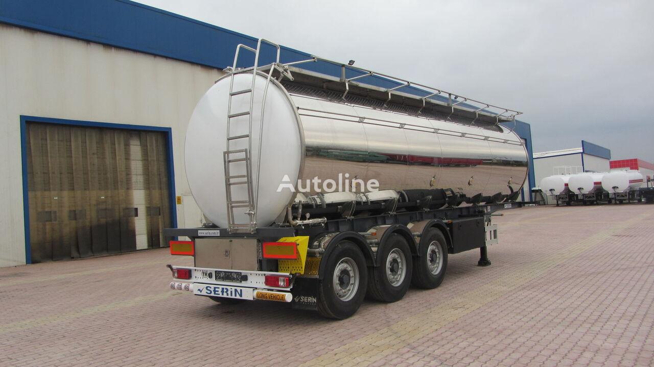 новая пищевая цистерна SERIN Food Staff fuel tank semi trailer