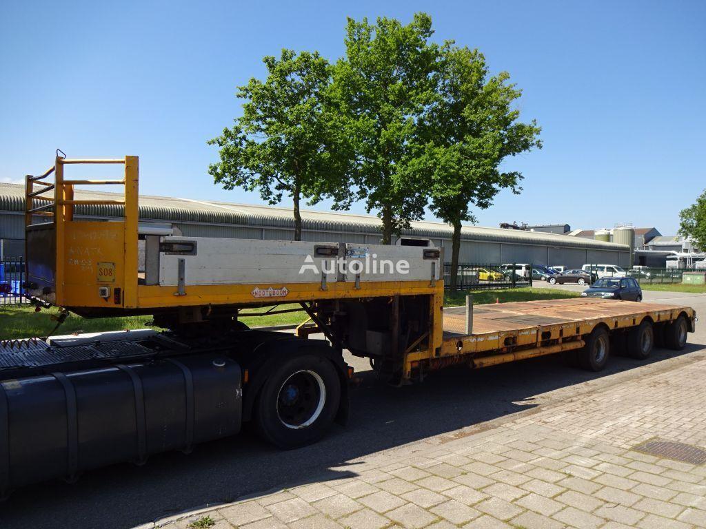 полуприцеп низкорамная платформа NOOTEBOOM 2x Extendable till 25 Meter - 3x Hydr Gelenkt/3x Powersteering
