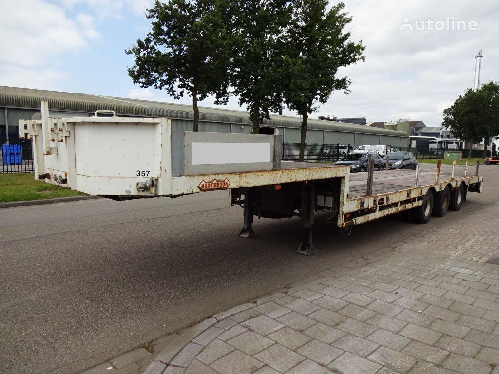 полуприцеп низкорамная платформа NOOTEBOOM Extendable - Steering Axle/Gelenkt - Holland Trailer