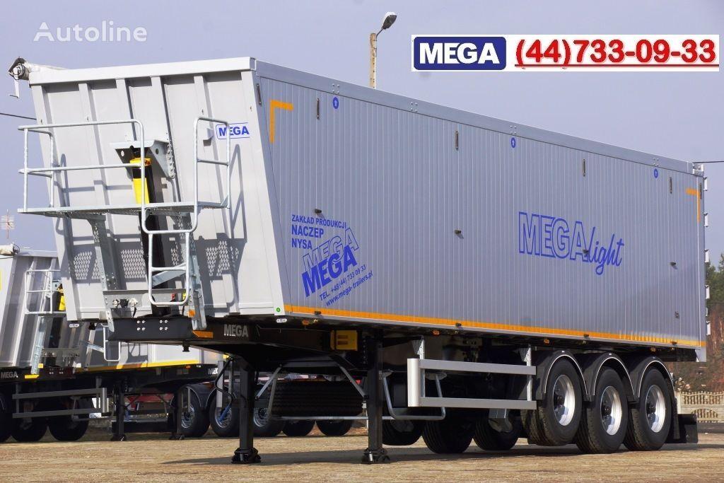 новый полуприцеп самосвал MEGA 10,4 m / 55 M³ ALUM TIPPER