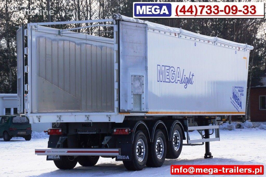 полуприцеп самосвал MEGA 10,4 m / 60 M³ ALUM TIPPER SUPER LIGHT 6,2 T ! READY & NEW !