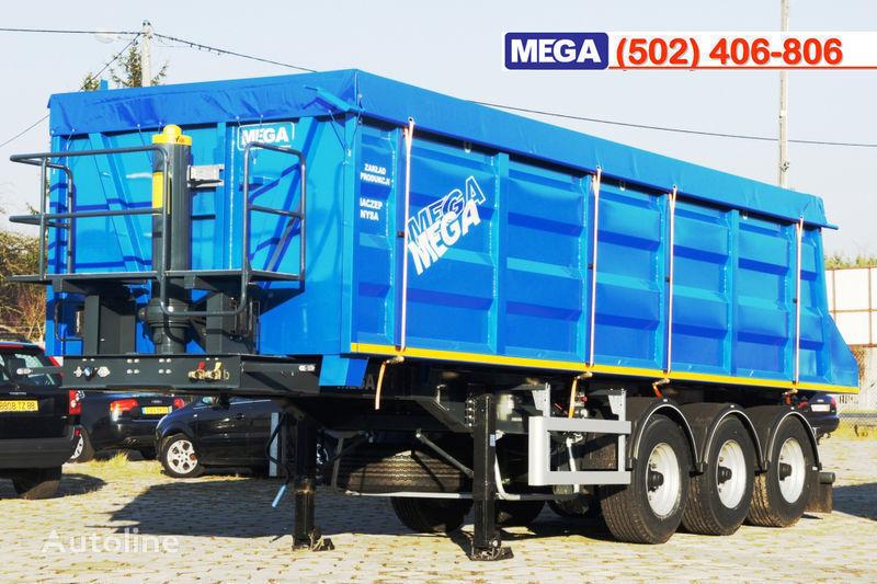 новый полуприцеп самосвал MEGA 35/9200 кcc - cамосвал 35 куб.м., paмa к тягачу 6x4, клапан!