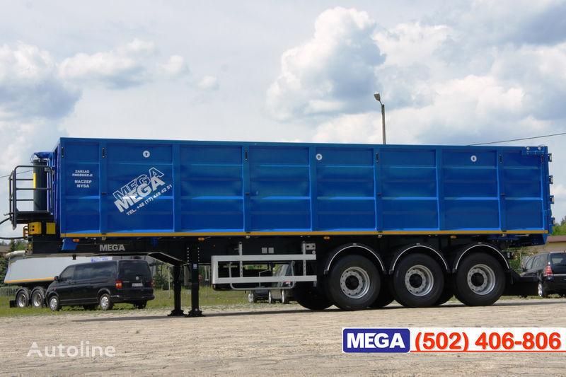 новый полуприцеп зерновоз MEGA 38/10200 КД paмa к тягачу 6x4