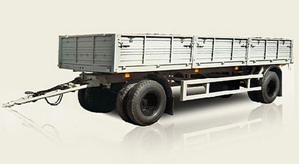 новый бортовой прицеп МАЗ 837810