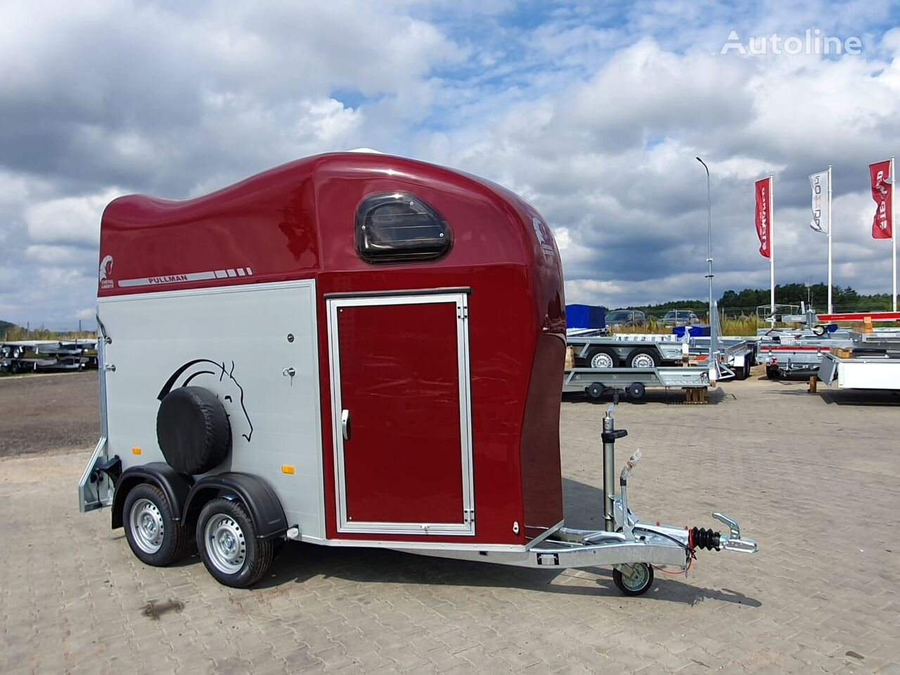 новый прицеп коневоз CHEVAL LIBERTE Gold 1 one horse trailer
