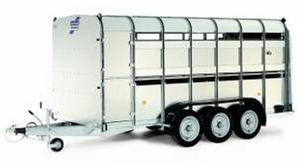 прицеп скотовоз IFOR Williams TA510T