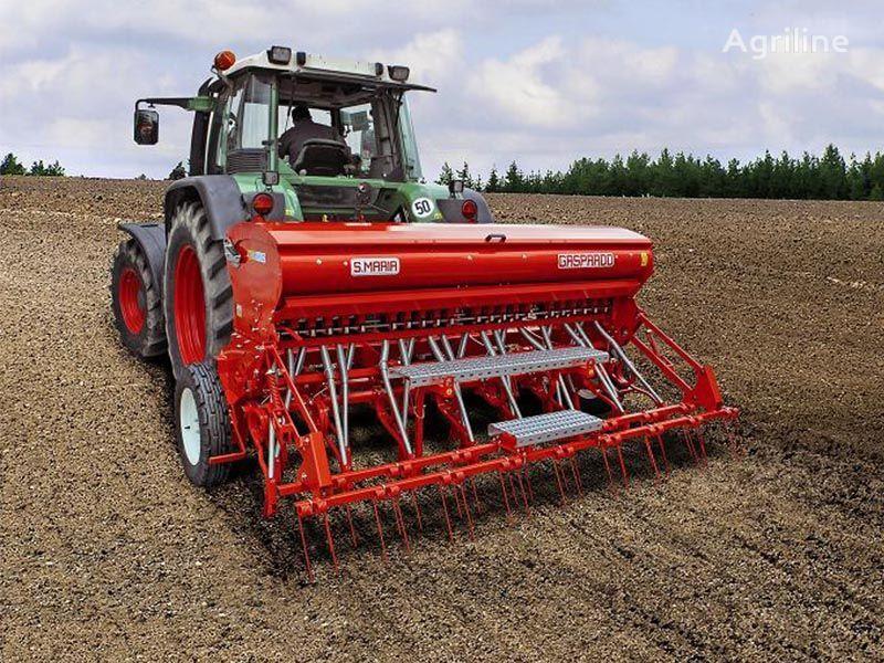 новая сеялка сплошного высева механическая GASPARDO SC MARIA 400 зерновая  28 рядов с удобрениями