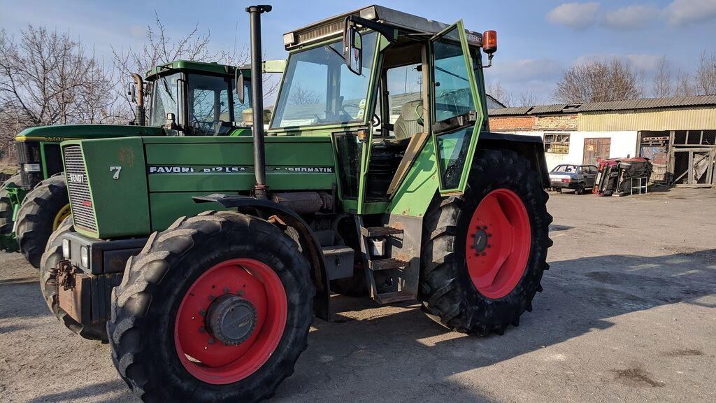 трактор колесный FENDT Favorit 612